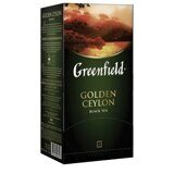 "Чай GREENFIELD ""Golden Ceylon"", черный, 25 пакетиков в конвертах по 2г"